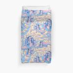Cloud Castle 3D Personalized Customized Duvet Cover Bedding Sets Bedset Bedroom Set