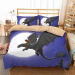 Dreamworks Dragons 3D Personalized Customized Bedding Sets Duvet Cover Bedroom Sets Bedset Bedlinen