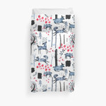 Frosted Forest 3D Personalized Customized Duvet Cover Bedding Sets Bedset Bedroom Set