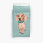 Dachshund, The Wiener Dog 3D Personalized Customized Duvet Cover Bedding Sets Bedset Bedroom Set