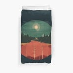 Midday Mountains 3D Personalized Customized Duvet Cover Bedding Sets Bedset Bedroom Set