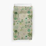 Emerald Forest Beige #Homedecor 3D Personalized Customized Duvet Cover Bedding Sets Bedset Bedroom Set