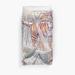 Spring Tigress 3D Personalized Customized Duvet Cover Bedding Sets Bedset Bedroom Set