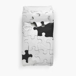 Jigsaw 3D Personalized Customized Duvet Cover Bedding Sets Bedset Bedroom Set