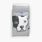 Pitbull King 3D Personalized Customized Duvet Cover Bedding Sets Bedset Bedroom Set