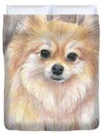 Pomeranian Watercolor 3D Personalized Customized Duvet Cover Bedding Sets Bedset Bedroom Set