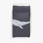 The Whale In The Night 3D Personalized Customized Duvet Cover Bedding Sets Bedset Bedroom Set