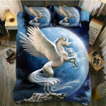 DefaultBefore The Moon Unicorn3D Customize Bedding Set Duvet Cover SetBedroom Set Bedlinen