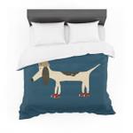 "Bri Buckley ""Chien"" Blue Featherweight3D Customize Bedding Set Duvet Cover SetBedroom Set Bedlinen"