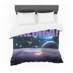 """""""Bazinga Purple""""pace Cotton3D Customize Bedding Set Duvet Cover SetBedroom Set Bedlinen"""