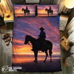 Purpleunset Horse #09181 3D Customize Bedding Set Duvet Cover SetBedroom Set Bedlinen