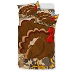 Turkey Lovers Doona 3D Customize Bedding Set Duvet Cover SetBedroom Set Bedlinen