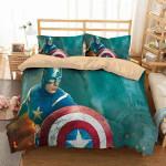 3D Customize Captain America #3 3D Customized Bedding Sets Duvet Cover Bedlinen Bed set
