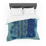 """Frederic LevyHadida """"Mosaic in Cyan"""" Featherweight3D Customize Bedding Set Duvet Cover SetBedroom Set Bedlinen"""