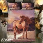 Horse By Theea #09211 3D Customize Bedding Set Duvet Cover SetBedroom Set Bedlinen