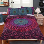 5pcs Bed in a Bag  Bohemian Floral Printed Bedclothes Fixed Combination Bed Cover Twin Full Queen King3D Customize Bedding Set/ Duvet Cover Set/  Bedroom Set/ Bedlinen