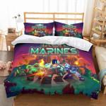 3D Customize Iron Marines et Bedroomet Bed3D Customize Bedding Set/ Duvet Cover Set/  Bedroom Set/ Bedlinen