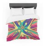 """Danny Ivan """"Veins"""" Rainbow Abstract Featherweight3D Customize Bedding Set Duvet Cover SetBedroom Set Bedlinen"""