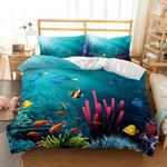 3D Naturalcenery Underwater World PrintedCover3D Customize Bedding Set Duvet Cover SetBedroom Set Bedlinen