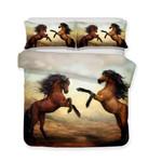 3d Art Horse Print 3 PieceAllize Print Bed Cover3D Customize Bedding Set Duvet Cover SetBedroom Set Bedlinen