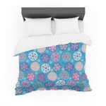 "Julia Grifol ""Floral Winter"" Featherweight3D Customize Bedding Set Duvet Cover SetBedroom Set Bedlinen"