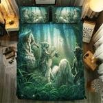 Wolf Collection #0905043D Customize Bedding Set Duvet Cover SetBedroom Set Bedlinen