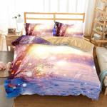 3D NaturalcenerynowceneBedBlanket Pink3D Customize Bedding Set Duvet Cover SetBedroom Set Bedlinen