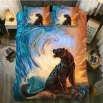 DefaultLeopard And The Dolphin3D Customize Bedding Set Duvet Cover SetBedroom Set Bedlinen