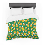 """Kandy KornGreen"" Featherweight3D Customize Bedding Set Duvet Cover SetBedroom Set Bedlinen"