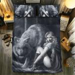 Wolf Collection #091973D Customize Bedding Set Duvet Cover SetBedroom Set Bedlinen