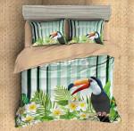 3D CUSTOMIZE TOUCAN #4 3D Customized Bedding Sets Duvet Cover Bedlinen Bed set