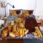 Teddy Dog Theme Digital PrintHousehold Itemss3D Customize Bedding Set Duvet Cover SetBedroom Set Bedlinen