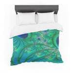 "Alison Coxon ""Fractal Turquoise"" Featherweight3D Customize Bedding Set Duvet Cover SetBedroom Set Bedlinen"