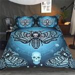 DefaultDeath Moth Butterfliess3D Customize Bedding Set Duvet Cover SetBedroom Set Bedlinen