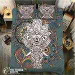 DefaultGolden Elephant Browns3D Customize Bedding Set Duvet Cover SetBedroom Set Bedlinen