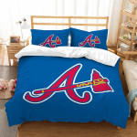 3D Customize Atlanta Braves et Bedroomet Bed3D Customize Bedding Set Duvet Cover SetBedroom Set Bedlinen