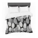 "Jacqueline Milton ""SeedsMonochrome"" Black White Cotton3D Customize Bedding Set Duvet Cover SetBedroom Set Bedlinen"