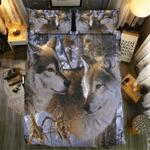 Wolf Collection #0906213D Customize Bedding Set Duvet Cover SetBedroom Set Bedlinen