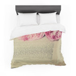 "Cristina Mitchell ""A Good Read"" Pink Tan Featherweight3D Customize Bedding Set Duvet Cover SetBedroom Set Bedlinen"