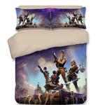Game Fortnite Et Bedroomet Bed 3D Print Gamekin Xbox3D Customize Bedding Set/ Duvet Cover Set/  Bedroom Set/ Bedlinen