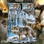 Wolf Collection #091033D Customize Bedding Set Duvet Cover SetBedroom Set Bedlinen