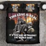 """This Love Is Real"" 3D Customize Bedding Set Duvet Cover SetBedroom Set Bedlinen"