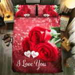 Rose Love Collection #091743D Customize Bedding Set Duvet Cover SetBedroom Set Bedlinen