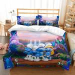 3D Customize Themurfs et Bedroomet Bed3D Customize Bedding Set Duvet Cover SetBedroom Set Bedlinen