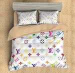 Louis Vuitton Custom #3 3D Customized Bedding Sets Duvet Cover Bedlinen Bed set