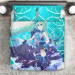 Vocaloid Hatsune Miku V4 3D Customized Bedding Sets Duvet Cover Bedlinen Bed set
