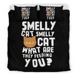 Smelly Cat 3D Customize Bedding Set Duvet Cover SetBedroom Set Bedlinen