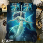 DefaultGreen Mermaids3D Customize Bedding Set Duvet Cover SetBedroom Set Bedlinen