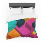 "Danny Ivan ""Happy Cubes"" Cotton3D Customize Bedding Set Duvet Cover SetBedroom Set Bedlinen"