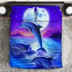 Dolphin  3D Customized Bedding Sets Duvet Cover Bedlinen Bed set